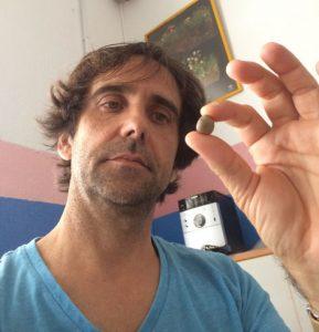 Tan insignificante como inspiradora, os presento a: Mi Piedra.